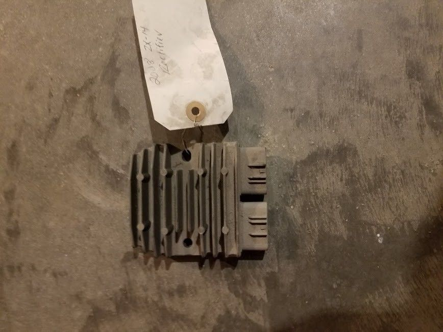 2008 Kawasaki Ninja ZX14 OEM RECTIFIER VOLTAGE