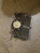1999-2002 YAMAHA YZF R6 OEM RADIATOR AND COOLING FAN